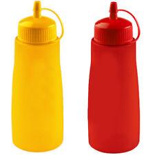 Bottiglia Flacone dosatore hogar con tappo da 500ml per salse maionese ketchup