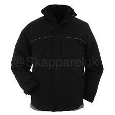 Papini Mens Ladies 3 in 1 Jacket Waterproof Microfleece Windproof Breathable