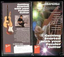 """Fender Guitar Video Vhs """"Collectors Item"""" New"""