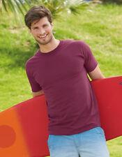 SUPER Premium T-SHIRT STAMPA Fruit of The Loom 18 colori a scelta