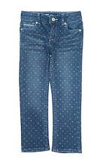 New! Levi's Polka Dot Denim Skinny Jeans Shaelyn Little Girls Toddler 2T-6X
