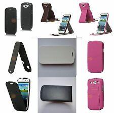 Leder Tasche Mit Verschieden-Oberfläche und Design für Samsung Galaxy S3 I9300