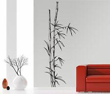 Bambus Strauch/Stamm - Asien China Badzimmer Wohnzimmer Wandaufkleber WandTattoo