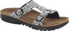 Birkenstock Sofia zebra black Gr. 36-39 schmales Fußbett made in Germany