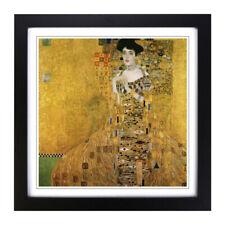 Framed Picture Print 18x18 Inch Gustav Klimt Portrait of Adele Bloch-Bauer I