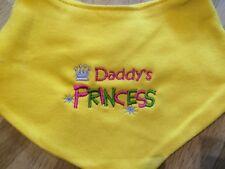 BABY BANDANA DRIBBLE BIB/KEEPSAKE/GIFT/GIRL Daddy's Princess