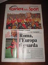 AS ROMA LIVERPOOL PROGRAMMA PROGRAMME FINAL EUROPEAN CUP COPPA CAMPIONI 1984