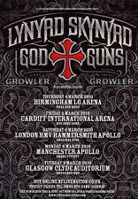 LYNYRD SKYNYRD - 2010 TOUR FLYER - GENUINE RARE LIVE CONCERT MUSIC PROMO