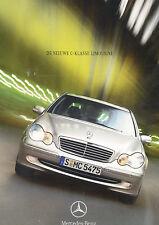 2000 Mercedes Benz C240 C320 C200 Dutch Sales Brochure
