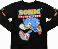Sonic the Hedgehog Long Sleeve t-Shirt  4 5 6 7 8 10 12 14 16 Child XS S M L XL