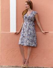 Bravissimo LADIES/WOMENS Wrap Dress in Blue Mix Color (54)