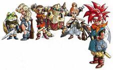 156378 Chrono Trigger Chrono Cros Game Wall Print Poster CA