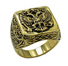 Masonic rings ebay Gold Tone Scottish Rite Freemason. Russian Coat of Arms Eagle