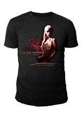 Game of Thrones - Khalessi Mother of Dragon Herren T-Shirt (Schwarz) (S-L)