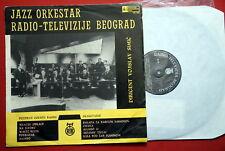 JAZZ ORCHESTRA RTB 1963 ULTRA RARE EXYUGOSLAV PRESS LP