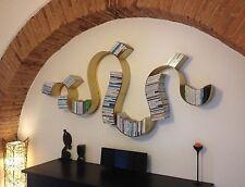 LIBRERIA porta CD DVD design FERRO . Realizzazioni Personalizzate . 902