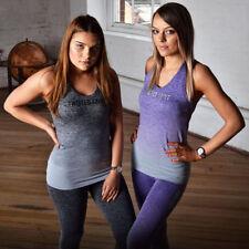 Grey or Purple Twisted Saint Sports Vest. Sports wear gym clothing gym Fitness