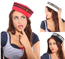 retro Matrosen Uniform rockabilly Sailor Matrosenhut Anker Mütze