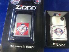MLB ZIPPO LIGHTER NEW YORK YANKEES OR PHILADELPHIA PHILLIES FREE SHIPPING