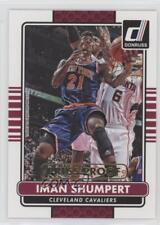 2014 Panini Donruss Press Proof Gold #79 Iman Shumpert Cleveland Cavaliers Card