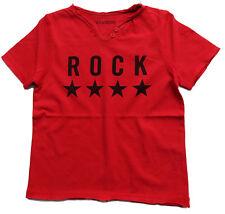 ZADIG & VOLTAIRE Garçons T-shirt rouge étoiles rock 86 92 98 104 110 116