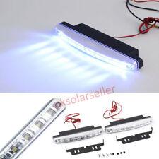 2/1x 8LED SuperBright Car DRL Daytime Running Light Daylight Bulb Head Lamp L130