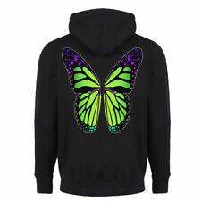 Sweat-shirt zippé à capuche Papillon