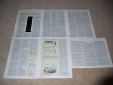 Energy Veritas v2.8 Speaker Review, 6 pg, 1994, Full Test, Specs, Info
