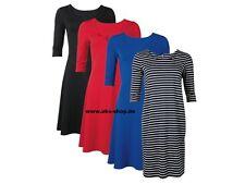 (r24) ESMARA ® Femmes Fashion robe Robe Jersey-Qualité NEUF