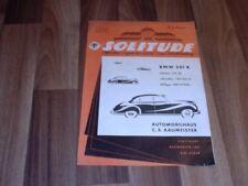 SOLITUDE 4/1954 -- BMW 501 B/3. Cannstatter Moto-Cross
