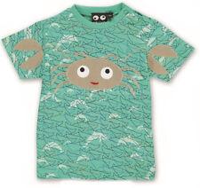 Ubang babblechat baby T-Shirt Krabbe crab grün aqua Delphine 74 80 86 92 NEU