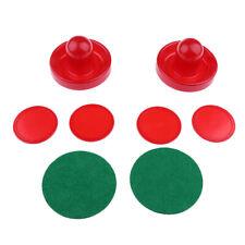 2x Air Hockey Pusher + 4x Air Hockey Pucks für Air Hockey Tisch Spiel