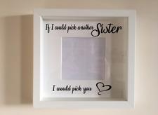 IKEA RIBBA Cornice Di Vinile Personalizzato Wall Art preventivo se potessi scegliere sorella