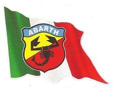 Sticker ABARTH left flag gauche