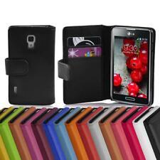 Handy Hülle für LG OPTIMUS L7 II Cover Case Tasche Etui mit Kartenfächer