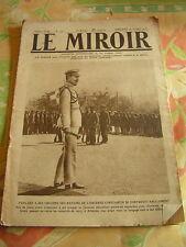 Le miroir 1916 GENERMONT COMBLES VAUX CHAPITRE GORIZIA