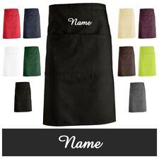 schnoschi Delantal cocina, vorbinder CON NOMBRE DESEADO bordado – Muchos Colores