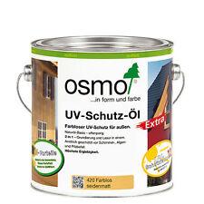Osmo UV-Schutzöl extra farblos seidenmatt mit Filmschutz ab 22,76 €/ltr.