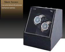 Auto Mute Watch Winder forme irrégulière Montre-bracelet affichage Box Storage Case