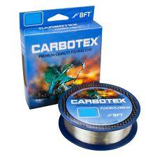 (0,15€/m) BFT Carbotex Fluorocarbon Schnur Monofil transparent 150m verschiedene