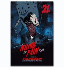 58813 21 Savage Numb The Pain Tour Custom Wall Print Poster CA