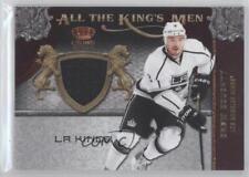 2011-12 Panini Crown Royale All the King's Men Memorabilia #18 Drew Doughty Card
