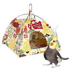 Small Pet Tent Bird Nest Hamster Chinchillas Hanging Hammock Parrot Tent
