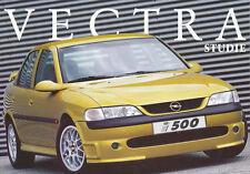 Opel Vectra i500 Studie Autoprospekt 9/97 Prospekt 1 Bl. 1997 Auto PKWs brochure