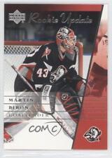 2002-03 Upper Deck Rookie Update #14 Martin Biron Buffalo Sabres Hockey Card