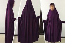 Muslim Kids Girls Clothes Scarf Prayer Long Maxi dress Islamic Abaya Kaftan New