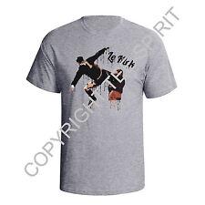 Eric Cantona Kick Graffiti Style Man Utd France Mens Football World Cup T-Shirt