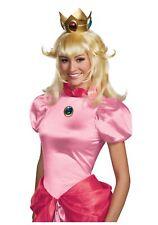 Princess Peach Adult Wig