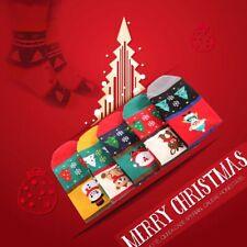Multicolor Algodón Hombres Mujeres Calcetines De Navidad Dibujos Animados