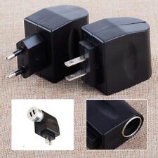 AC 110V-220V Wall Power to 12V Car Charger Cigarette Lighter Converter Adapter